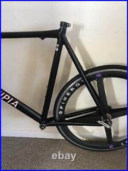 Superlight Principia Special Time Trial/Road Bike Frameset with Forks Shimano 600