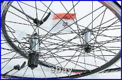 TIAGRA SHIMANO FH-RS400 700c 622x13 ROAD BIKE RACER WHEELS 8/9/10/11 CASSETTE