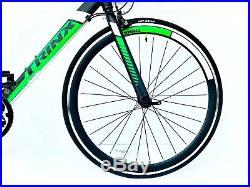TRINX Road racing bike bicycle 700c wheels & 21 shimano gears lightweight 56cm