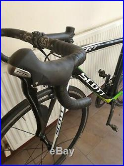 Top Spec Small Scott Cr1 Team Full Carbon Road Race Bike Shimano Ultegra Vision