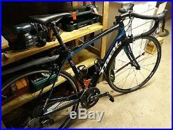 Trek Domane 4.0, Full Carbon Road Bike, Shimano 105, Size 54cm, Black/Blue VGC