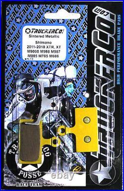 TruckerCo Sintered Disc Brake Pads for shimano XTR XT Doere SLX BR m8000 Sm13
