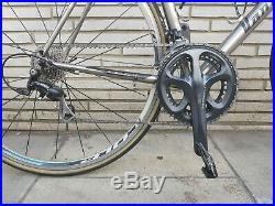 Van Nicholas Aquilo titanium road bike 58cm 10 speed Shimano 105 RRP £2400