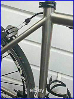 Van Nicholas Euros Titanium 52cm Frame Shimano 105