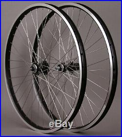 Velocity Cliffhanger 36h Touring Bike Wheelset 26, 27.5, 700c Dynamo Front Hub