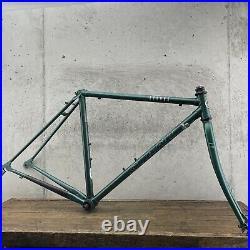 Vintage Giant Kronos Frame Set Small 48cm 51cm 130mm CRMO Lugged Road Bike