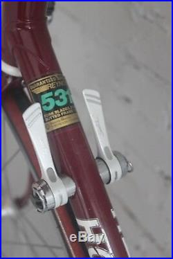 Vintage Holdsworth Criterium 57cm Road Bike Reynolds 531 Shimano Sante Eroica