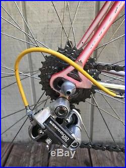 Vintage SOMEC Italian Road Bike 50CM Columbus Tubing SHIMANO 600