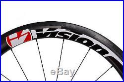 Vision Metron 55 SL Carbon Tubular Road Bike Wheel Set 11s Shimano 700c