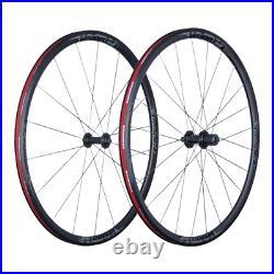 Vision Team 30 Comp Road Bike Wheelset Clincher Black Shimano Freehub