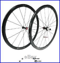 Vision Trimax 35 Road Bike Wheelset 700c Alloy Clincher Shimano/SRAM No Skewers