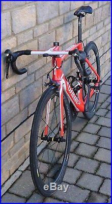 Wilier Cento 10 Air Shimano Ultegra Carbon Road Bike 2017 Red (54cm) Medium