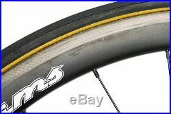 Williams 38 Road Bike Wheel Set 700c Carbon Tubular Shimano 10 Speed