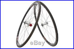 Zipp 202 Road Bike Wheel Set 700c Carbon Tubular Shimano 10 Speed