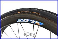 Zipp 202 Road Bike Wheel Set 700c Carbon Tubular Shimano 10 Speed DT Swiss 240s
