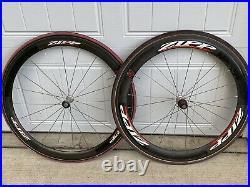 Zipp 303 404 Carbon Aero 700c Tubular Wheelset Shimano/SRAM