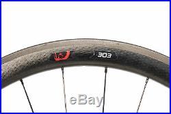 Zipp 303 Firecrest Road Bike Wheel Set 700c Carbon Tubeless Disc Shimano 11s