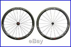 Zipp 303 Firecrest Road Bike Wheel Set 700c Carbon Tubular Shimano 11 Speed