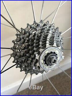 Zipp 404/303 Carbon Fibre Tubular Road/TT Bike Wheelset Shimano 105 10 Spd Cass