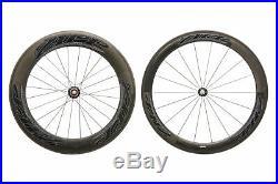 Zipp 404/808 Road Bike Wheelset Carbon Tubular Shimano 10 Speed Tune Hubs