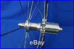 Zipp 404 Carbon 700c Clincher Road Bike Wheelset QR Shimano 10spd -Rim Brake