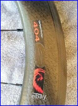 Zipp 404 Carbon Clincher Wheelset / DT240 Shimano Sram 11 spd