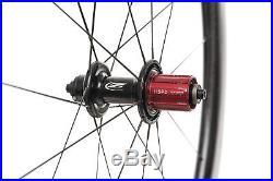 Zipp 404 Firecrest Road Bike Wheel Set 700c Carbon Tubular Shimano 11 Speed