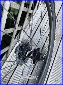 Zipp 404 Firecrest road bike wheelset 700c clincher (Shimano/sram)