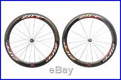 Zipp 404 Pave-Cross Road Bike Wheel Set 700c Carbon Tubular Shimano 10 Speed