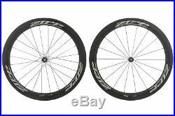 Zipp 404 Road Bike Wheel Set 700c Carbon Tubular Shimano 10 Speed