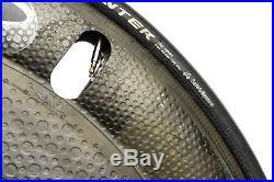 Zipp Sub-9 PowerTap 2.4 Road Bike Rear Wheel 700c Carbon Tubular Shimano 10s